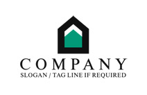 Simple Real Estate Logo