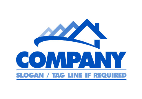 Roofing logos designs